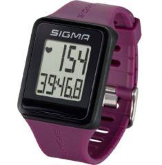 Paarse Sigma Sport Sigma iD.GO Plum Sporthorloge 24510
