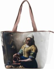 Robin Ruth Shopper Tas Medium 48x31cm Vermeer - Melkmeisje