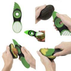 Groene Merkloos / Sans marque Premium 3-in-1 Avocado Snijder - Keukengadget Avocadosnijder Avocado