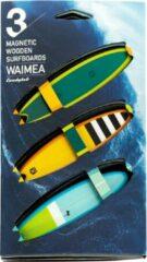Candylab Toys Candylab - Waimea Houten Magnetische Surfboards - Set van 3