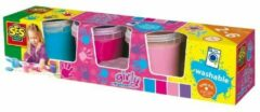 SES Creative knutselset, 'Vingerverf Girly 4 kleuren à 150ml'