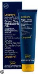 Leopard-Sport-Groene klei Pakking-vemindert zwellingen & kalmeert overbelasting-100 ml.