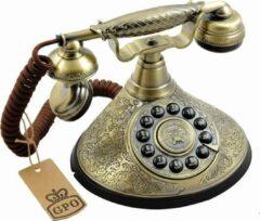 Bronze GPO 1935 push Retro Vaste Telefoon design