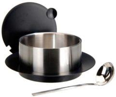 Zilveren Ds Excellent Houseware Roestvrijstalen serveerset (1 liter)