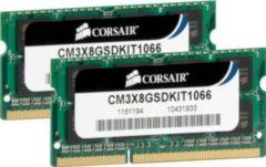 Corsair Microsystems Corsair DDR3 - 8 GB: 2 x 4 GB - SO DIMM 204-PIN CM3X8GSDKIT1066