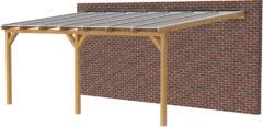 Woodvision Douglasvision | Veranda 700x400 | Opaal dakplaat