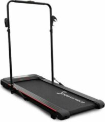 SPORTSTECH loopband voor thuis & kantoor   Bluetooth-luidspreker & app   extra stil voor fitness tot 8 km/u   afstandsbediening en flessenhouder   DFT100
