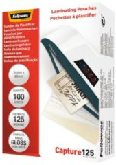 Fellowes Lamineerfolie 86 x 54 mm, Creditcard 125 micron glanzend 100 stuk(s)