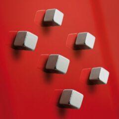 Sigel Magneet SuperDym C5 Strong Cube-Design (b x h x d) 10 x 10 x 10 mm dobbelsteen Zilver 6 stuk(s) GL192