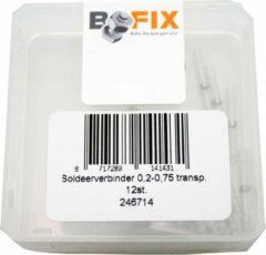 Witte Rivel Ds soldeerverbinder 0.20-0.75 transp
