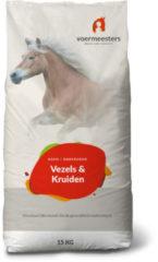 Voermeesters Vezels En Kruiden - Paardenvoer - 15 kg