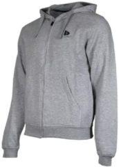 Donnay sweater met capuchon - Sportvest - Heren - Maat M - Licht grijs gemêleerd