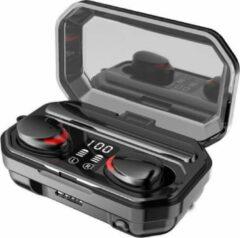 Rode TWS - Draadloze oortjes / in-ear oordopjes - Bluetooth Draadloze buds - Luxe indicator & Zaklamp in 1 - Geschikt voor alle smartphones o.a Samsung & Iphone, airpods, galaxy buds, huawei, sony - Zwart.- AANBIEDING!