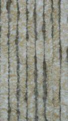 Lesli Vliegengordijn kattenstaart wit / beige 90 x 220 cm