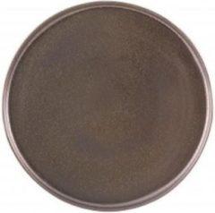 Vista Alegre Shine Set 6 Bord 18 cm Bruin Stoneware 621421