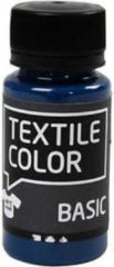 Creativ company Creotime Textielverf Solid 50 Ml Turquoise
