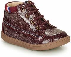 Rode Hoge Sneakers GBB FRANCETTE