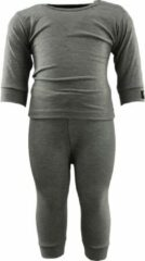 RJ Bodywear RJ Thermo Baby Set Grijs 50/56