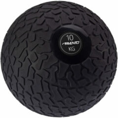 Avento Slam Bal met Profiel - 10 kg - Zwart