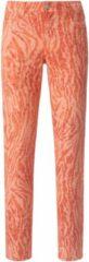 Regular Fit-jeans model Cici Slim Leg Van ANGELS oranje