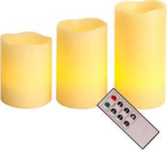 Sonstiges LED Wachskerzen mit Fernbedienung 3er-Set