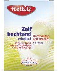 Witte HeltiQ Zelfhechtend Windsel - 4 m x 8 cm - Verband