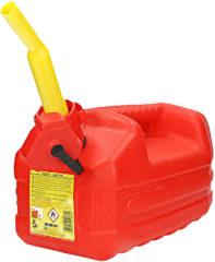 San Ignacio EDA - Benzine jerrycan - Met tuit - 5 Liter - Rood