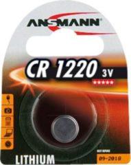 Ansmann Batterie Lithium Knopfzelle CR-1220 Ansmann Silber