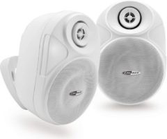 CALIBER outdoorspeaker HSB602BT/W Witte waterbestendige Bluetooth 70Watt buitenspeaker voor terras,tuin,veranda