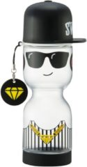 Transparante Lock&Lock Schoolbeker - Hiphop Boy - 430 ml