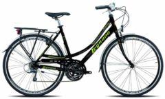 28 Zoll Legnano Ventimiglia Damen Trekking Fahrrad Aluminium 21-Gang Legnano schwarz-grün