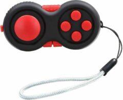 Calm Pad Fidget Pad – Wriemelkubus – Anti Stress Speelgoed – Fidget Cube – Wriemel Stick – Zwart Rood