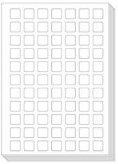 Ons Magazijn Pictoagenda blanco stickervellen (25 stuks)