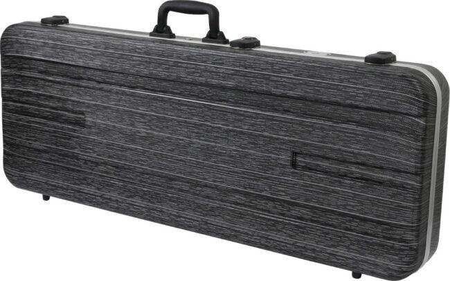 Afbeelding van De Fazley GC-EC500BL is gemaakt van ABS kunststof en een dikke laag pluche (zeven millimeter). Deze spatwaterdichter koffer is voorien van TSA sluitingen. Voor veilig opbergen en vervoer van jouw elektrische gitaar.