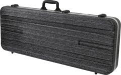 De Fazley GC-EC500BL is gemaakt van ABS kunststof en een dikke laag pluche (zeven millimeter). Deze spatwaterdichter koffer is voorien van TSA sluitingen. Voor veilig opbergen en vervoer van jouw elektrische gitaar.
