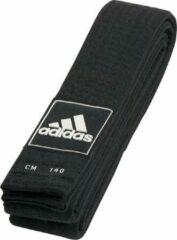 Adidas Taekwondo Competitie Budoband Zwart 43mm 280/300cm