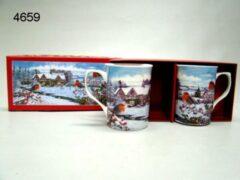 Lesser & Pavey Mok roodborst, 2 stuks in cadeauverpakking