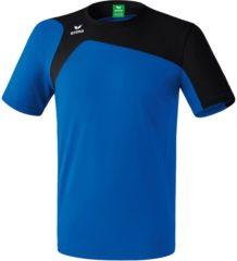 Blauwe Erima Club 1900 2.0 T-shirt Senior Sportshirt - Maat L - Mannen - blauw/zwart