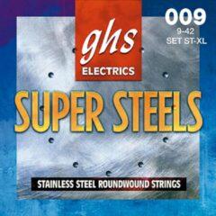 GHS ST-XL Super Steels extra light snarenset elektrische gitaar