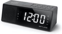 Zwarte Muse Electronics Muse M-172 BT Bluetooth wekkerradio