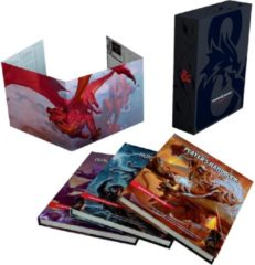 Wizards of the Coast Dungeons & Dragons Core Rulebooks Gift Set (Special Foil Covers Edition with Slipcase, Player's Handbook, Dungeon Master's Guide, Monster Manual, DM Screen)