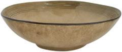 Xenos Schaal Toscane - bruin - 30 cm
