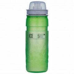 Elite - Ice Fly - Fietsbidon maat 500 ml, groen/grijs