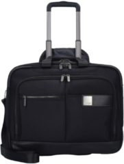 Power Pack 2-Rollen Businesstrolley 48 cm Laptopfach Titan black