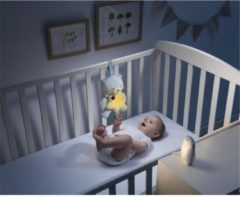 CHICCO Top First Dreams Babygeluiden luisteren + First Dreams Baby Bear Night Light - Blauw