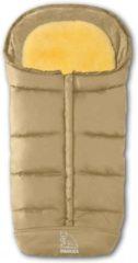 Schapenvachten Online Premium lamsvacht voetenzak beige met uitneembaar lamsvel
