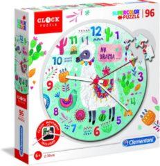 Clementoni - Clock Puzzle 96pcs Clementoni - Klok legpuzzel - Lama - 96 stukjes