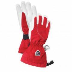 Rode Hestra - Women´s Heli Ski 5 Finger - Handschoenen maat 6 rood/roze