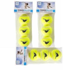 Gele Merkloos / Sans marque Angel Sports Tennisballen - 3 stuks