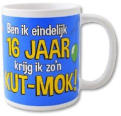 Paper dreams Paperdreams - Funny Mug - 16 jaar